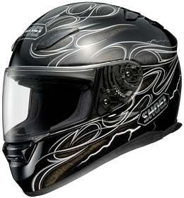 SHOEI RF-1100 FIRESTRIKE TC-5 MOTORCYCLE Full-Face-Helmet
