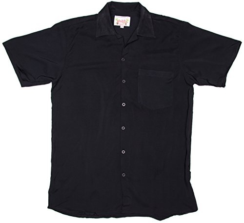 ragstock-mens-short-sleeve-retro-bowling-shirt-black-x-large