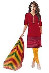 Gugaliya Women's Unstiched Superior Cotton FASHION SALWAR,KAMEEZ & DUPATTA Suit ( P512)