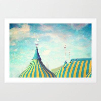 Circus Tent Art