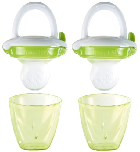Munchkin Baby Food Feeder, Green, 2 Count