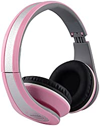 Zebion U 'n' Hue Series 250 Headphone (Pink and Silver)