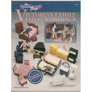Victorian Family and Furnishings (Plastic Canvas Pattern 90PT2)
