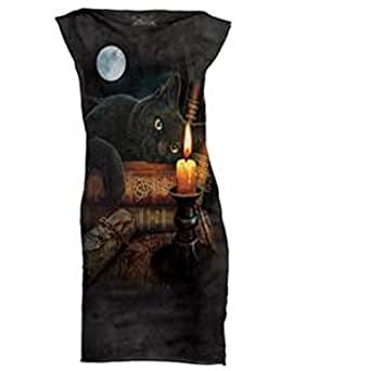 Cat Witching Hour Scary Dress Halloween Costume Women's Medium or Large