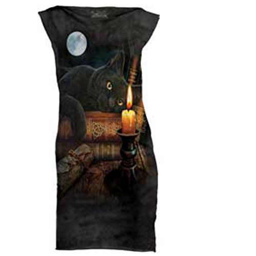 Cat Witching Hour Scary Dress Halloween Costume Women's Small