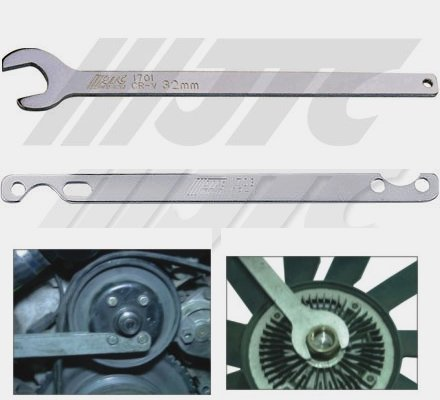 BMW FAN CLUTCH HOLDER WRENCH SET (Bmws Fan Clutch Tool compare prices)