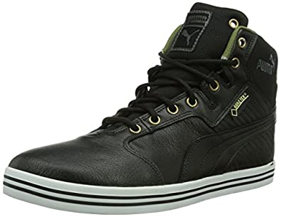 Puma Tatau Mid L GTX®, Herren Kurzschaft Stiefel, Braun (black-burnt olive-dark shadow-bronze-white 04), 39 EU (6 Herren UK)