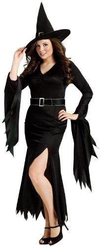 Fun World Womens Gothic Witch Adult Plus Costume