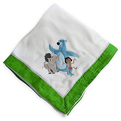 Disney Jungle Book Plush Baby Nursery Blanket