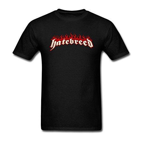 Men's Hatebreed Design Cotton Short Sleeve T Shirt
