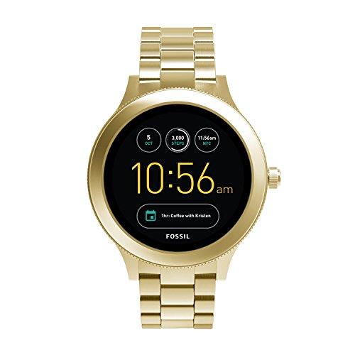 파슬 Fossil Gen 3 Smartwatch - Q Venture Gold-Tone Stainless Steel FTW6006
