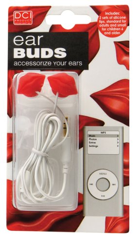 Ear Buds - Hot Lips Supercool Headphones