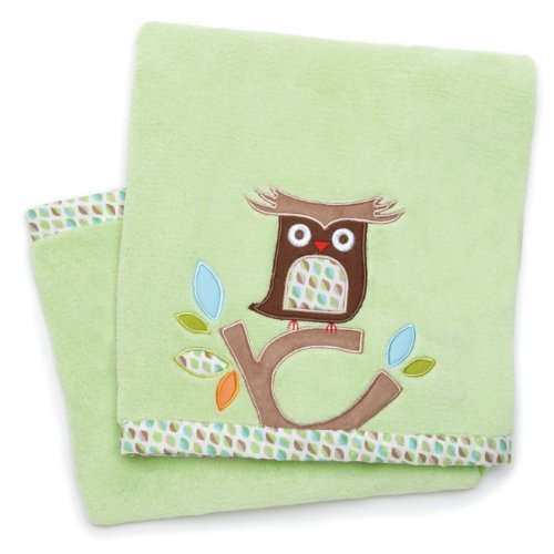 Skip Hop Plush Blanket, Treetop Friends