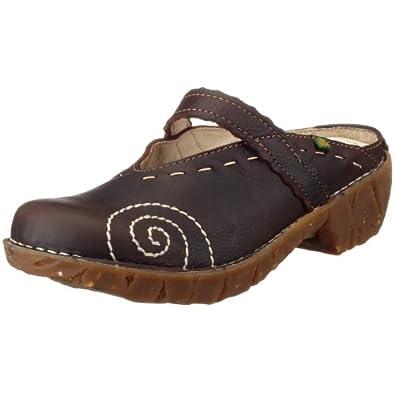 El Naturalista Iggdrasil N096 Damen Clogs & Pantoletten, braun (brown), EU 36