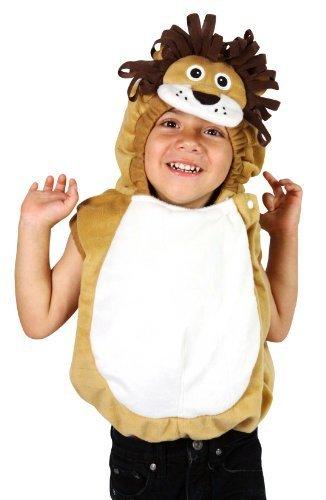 [Halloween Plush Vest Lion Costume (18-36 Months)] (Halloween Costumes 36 Months)