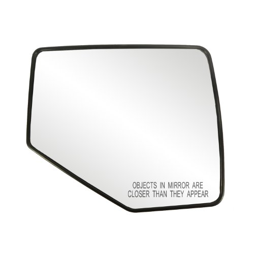 Fit System 80209 Ford/Mercury Right Side Manual/Power Replacement Mirror Glass with Backing Plate (2009 Ford Explorer Side Mirror compare prices)