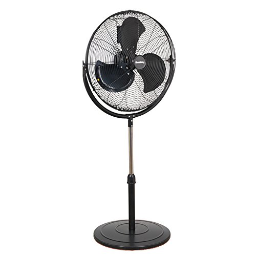 Sealey HVF20P Industrial High Velocity Pedestal Fan, 230 V, 20-inch