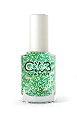 Color Club Nail Lacquer, Go-Go Green, 0.5 Ounce