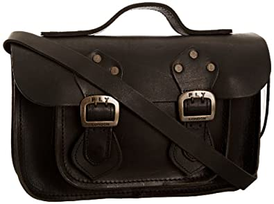 Fly London Annie, Women's Satchel, Black, One Size