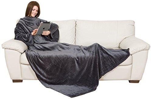 lavatelli kanguru 1095 coperta con le maniche grigio. Black Bedroom Furniture Sets. Home Design Ideas
