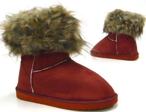Kunst Fell Boots Winterstiefel