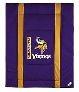 NFL Minnesota Vikings Full Queen Comforter by NFL