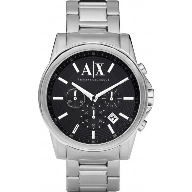 Armani Exchange AX2084 Mens ACTIVE Silver Chronograph Watch