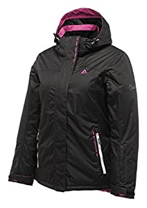 Dare 2b Fluctuate Womens Ski Jacket - Color: Black, Size: 10