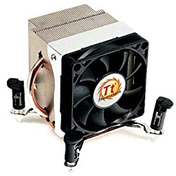 Thermaltake CLP0533 Copper Base Core i7 LGA1366 130W Side Blow CPU Cooler with Heatpipe