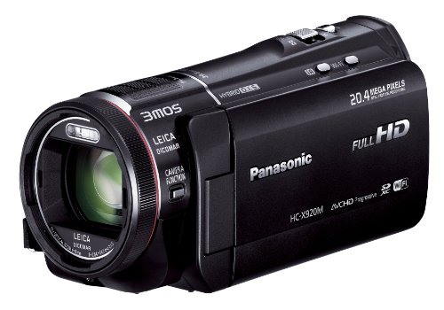 Panasonic Digital High-Vision Camcorder 64GB 3MOS Black HC-X920M-K (Japan model)