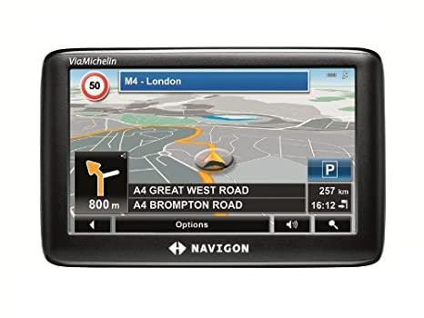 """Navigon 3310 Max GPS Europe 22 Pays Ecran Tactile 4,3"""" TMC Premium"""