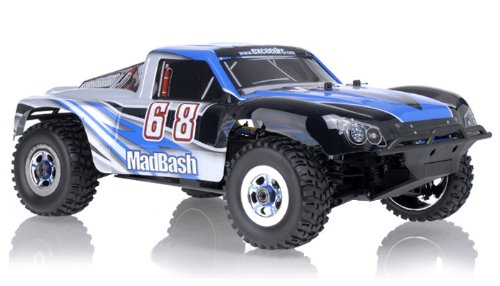 1/8Th Exceed Rc Madbash Electric Brushless Racing Edition Rtr Ready To Run Rally Car Alpha Blue ***Lipo-Charger Not Included***