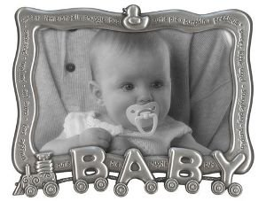 Malden Baby Train Metal Picture Frame