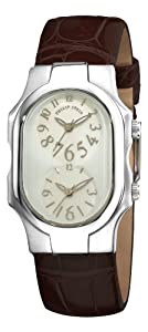 Philip Stein Women's 1-F-FSMOP-ACHS Signature Brown Leather Strap Watch by Philip Stein