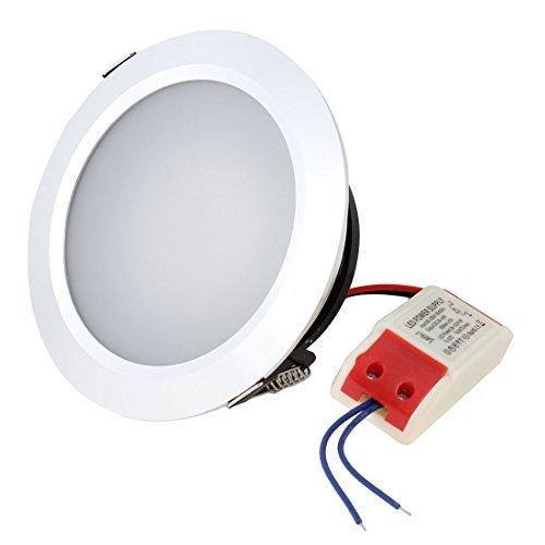 Water & Wood Ac 85-265V 9W White Led Panel Ceiling Light Downlight Lamp Bulb