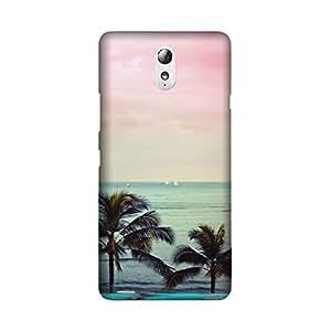 StyleO Lenovo Vibe P1m Designer Printed Case & Covers (Lenovo Vibe P1m Back Cover) - Beautiful Sea