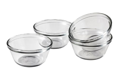 Anchor Hocking Custard Cups, 6-Ounce, Set of 4