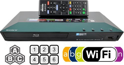 Sony BDP-S3100E  Multizone Wi-Fi DVD Blu-ray Player