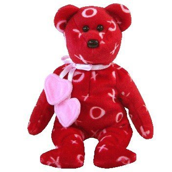 Imagen de IDAD Beanie Baby - KISS-KISS the Bear