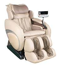 Hot Sale Osaki OS-4000 Zero Gravity Massage Chair Cream Beige Recliner S-track OS4000