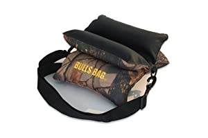 Bulls Bag 16014 Field Tree Camo-Tuff-Tec 10 in. Shooting Rest - Unfilled by Bulls Bag