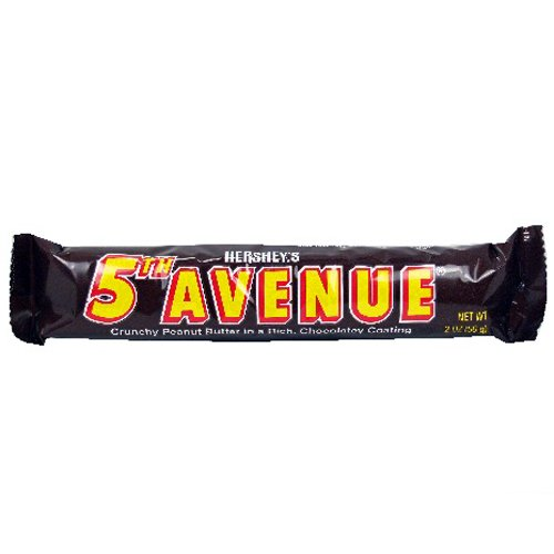 Hershey s 5th Avenue Bar 18 packB0006GRBLY