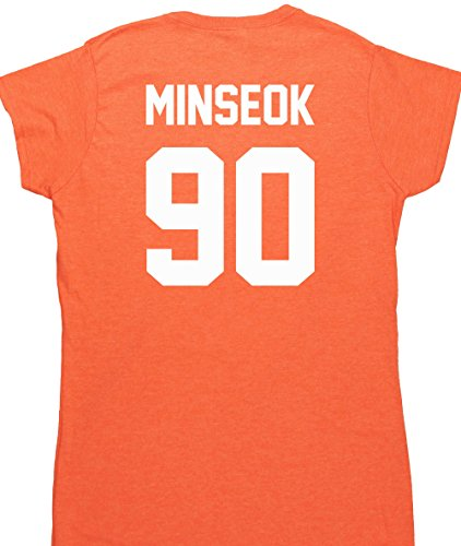 hippowarehouse-minseok-90-printed-on-the-back-womens-fitted-short-sleeve-t-shirt