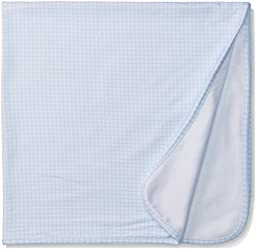 ABSORBA Baby-Boys Blanket Blue, Blue/White, One Size
