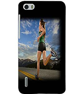 HUAWEI HONOR 6 RUNNER Back Cover by PRINTSWAG