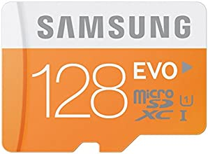 Samsung Evo MB-MP128DA/EU - Tarjeta de memoria micro SDHC de 128 GB (UHS -I Grade 1, Clase 10, con adaptador SD)