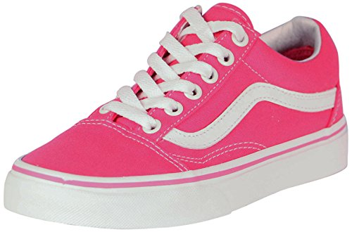 Vans Unisex Old Skool Canvas Skate Shoes-Fandango Pink-8-Women/6.5-Men (Vans Side Stripe Old Skool compare prices)