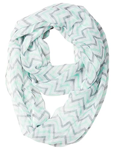 caramel-cantina-soft-chevron-sheer-infinity-scarf-one-size-mint-gray-white
