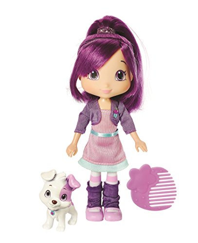The-Bridge-Direct-Strawberry-Shortcake-Berry-Best-Friend-Plum-Pudding-With-Pitterpatch-Fashion-Doll-6-Inch