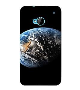PrintVisa Earth Design 3D Hard Polycarbonate Designer Back Case Cover for HTC One M7